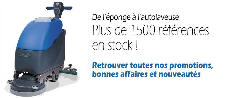 1500 références en stock !