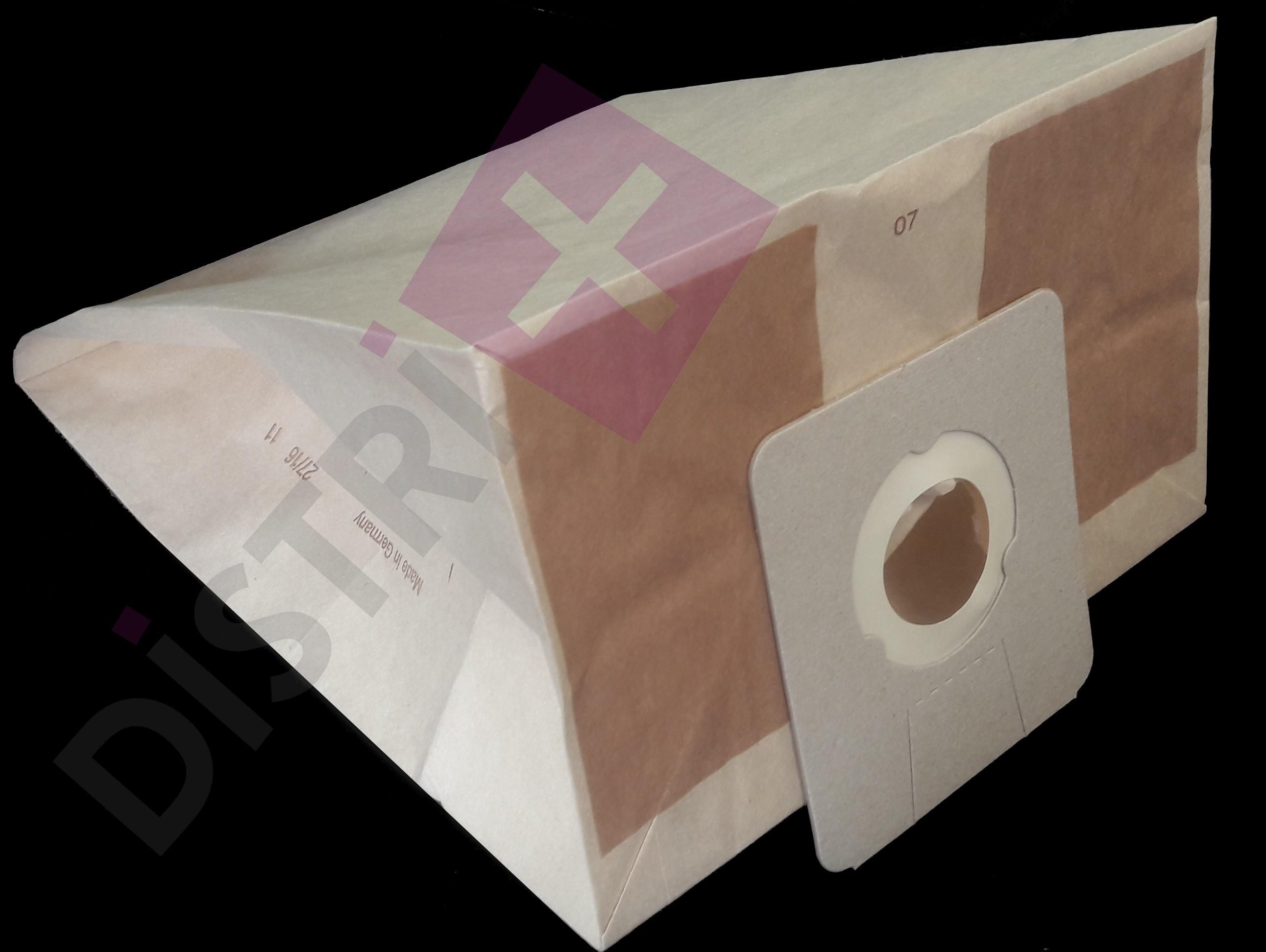 Sacs papier pour aspirateur  SOTECO