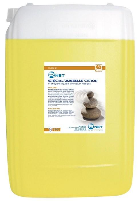 R'net Spécial vaisselle citron - 20L