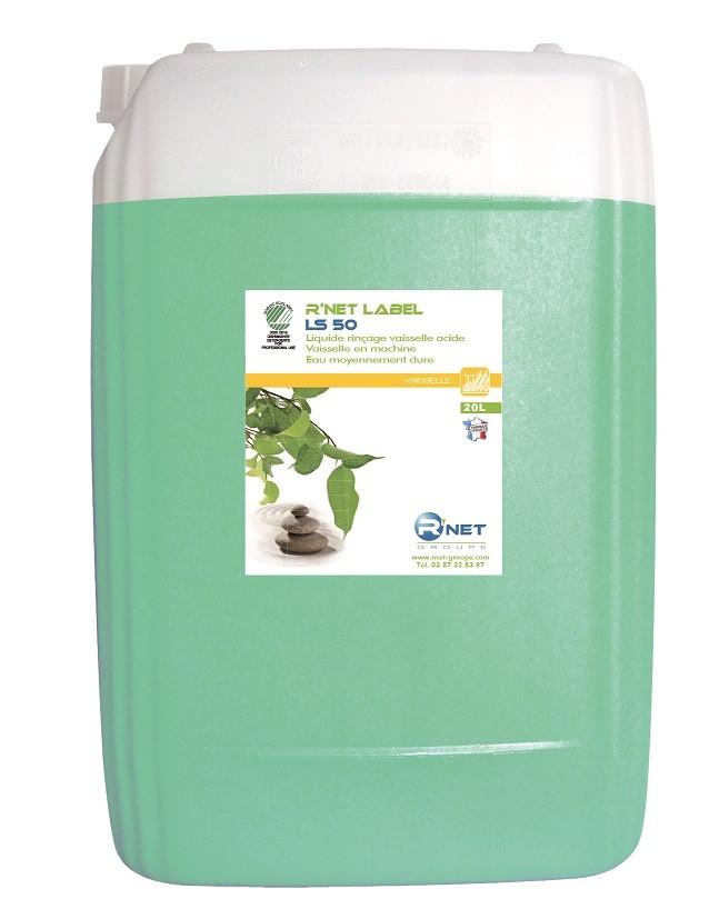 R'net label LS 50 liquide rinçage vaisselle - 20L