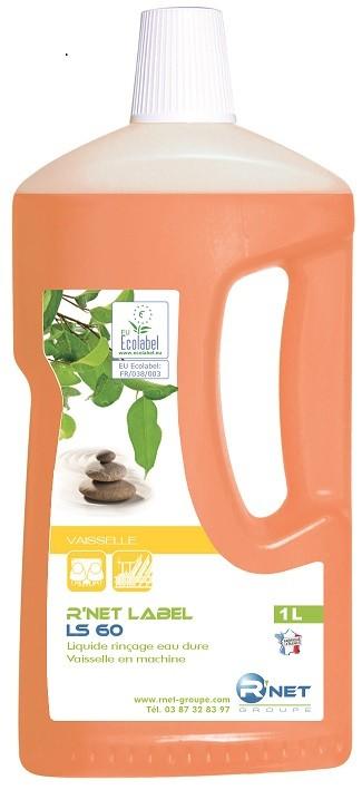 R'net label LS 60 liquide rinçage vaisselle - 1L