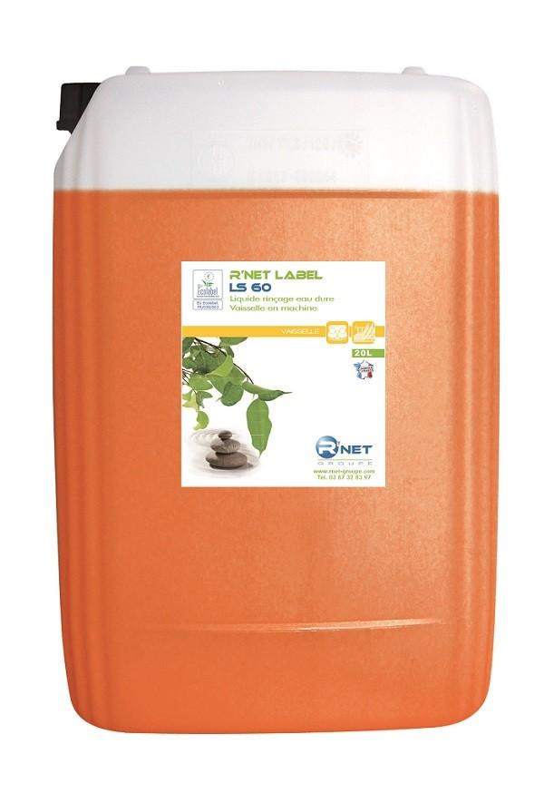 R'net label LS 60 liquide rinçage vaisselle - 20L