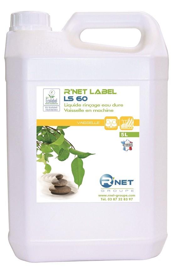 R'net label LS 60 liquide rinçage vaisselle - 5L