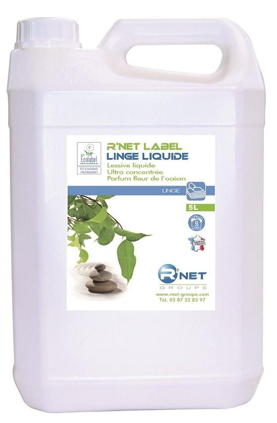 Lessives LIQUIDES R'NET LABEL LINGE LIQUIDE - 5Lx2
