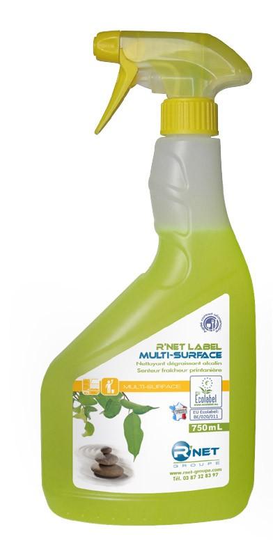 R'net label multisurface - Pulvérisateur 750mlx12