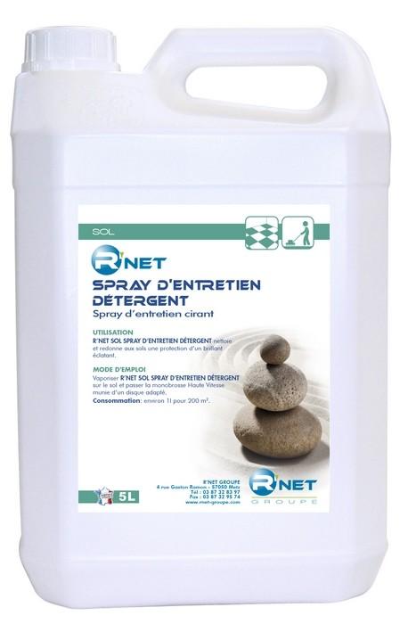 R'net sols spray d'entretien détergent -  5L
