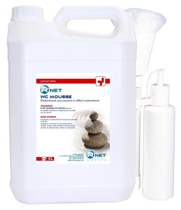 R'net sanit wc mousse 2x5L+1 VAD