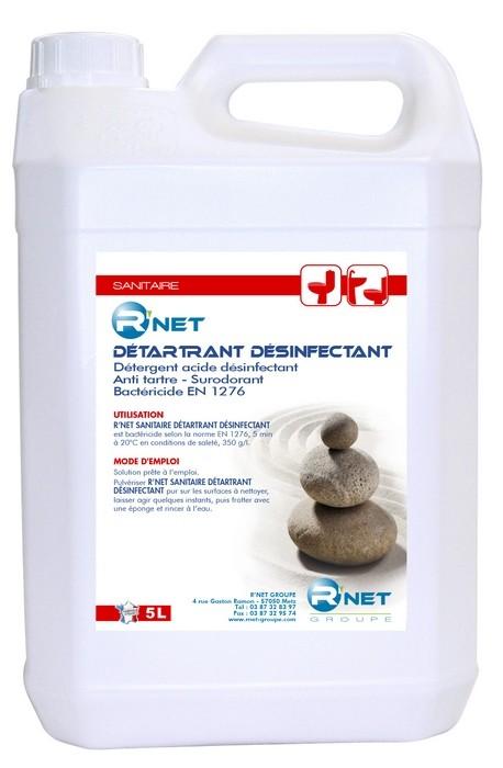 R'net détartrant désinfectant - 5L