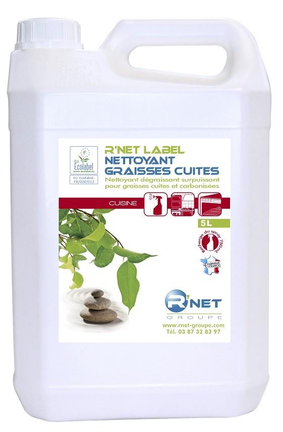 R'net label nettoyant graisses cuites - 5L plus pulvé