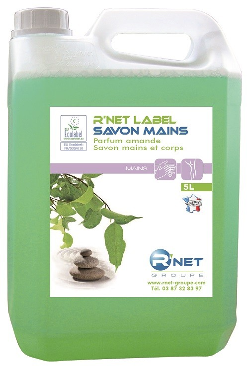 R'net label savon mains - 5L - Carton 2