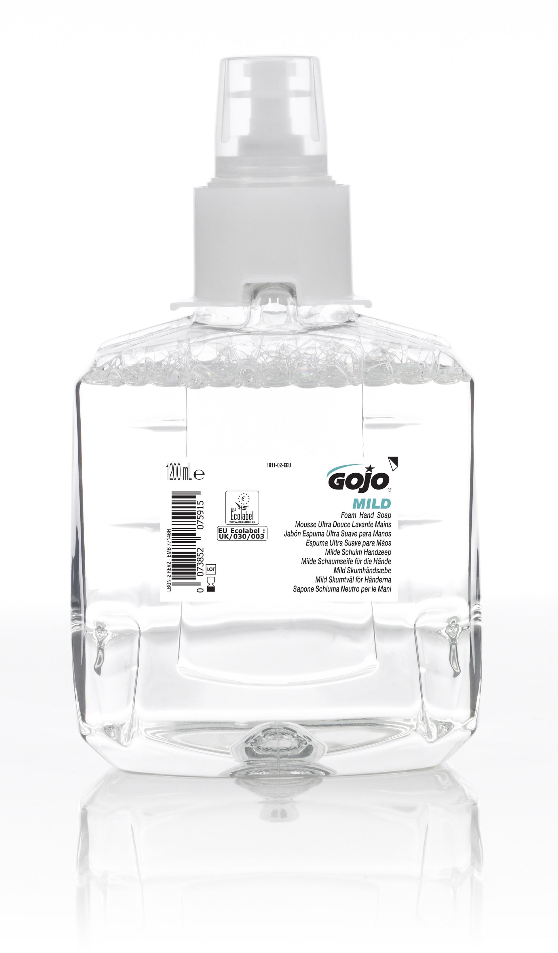 GOJO® Mousse Ultra Douce Lavante Mains