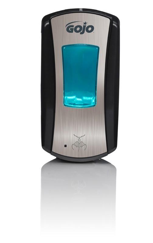 GOJO LTX Distributeur automatique chromé noir
