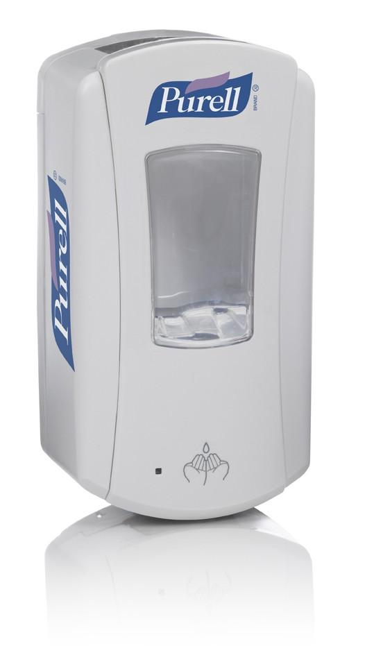 Distributeur automatique PURELL LTX™ 1200 ml blanc/blanc