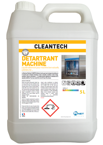 CLEANTECH  Détartrant Machine 5L