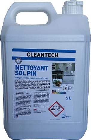 CLEANTECH Nettoyant Sol Pin 5L