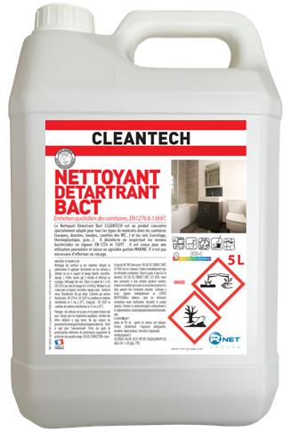 CLEANTECH   NETT DETARTRANT BACT 5L