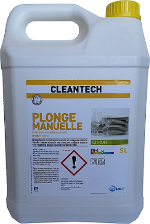 CLEANTECH  Plonge Manuelle 5L
