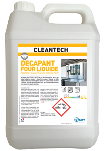 CLEANTECH   Décapant Four Liquide 5L