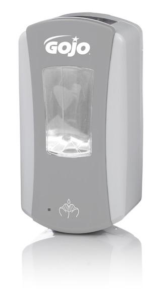 Distributeur automatique GOJO LTX™ 1200 ml gris/blanc