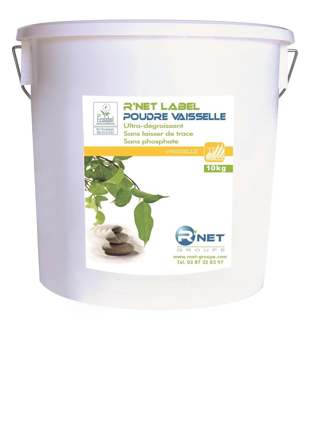 R'net label vaisselle poudre - 10kg