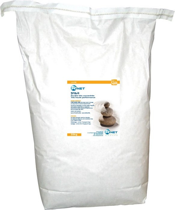 R'NET LINGE STAR - Poudre, sac 20kg
