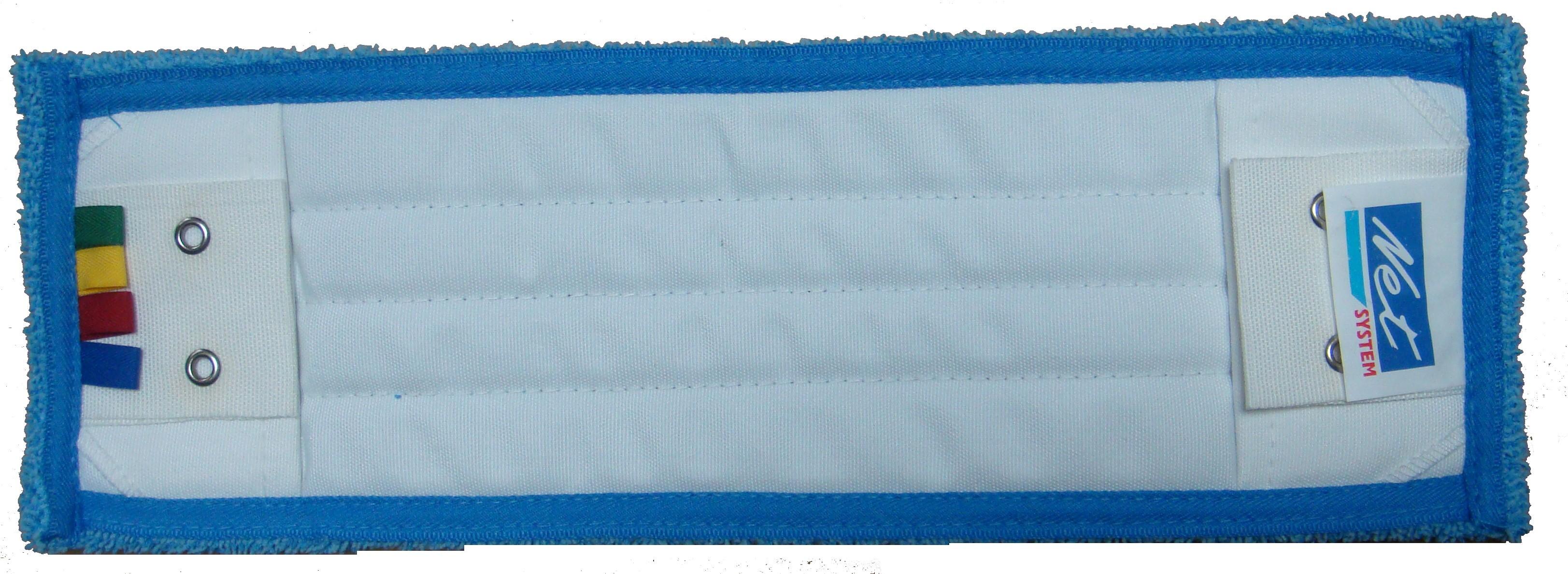 Bandeau microfibre micro-surf bleu 40 À poches, languettes et œillets