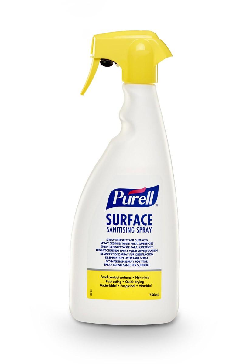 PURELL® Désinfectants Surfaces  alimentaires  Pulvérisateur de 750 ml