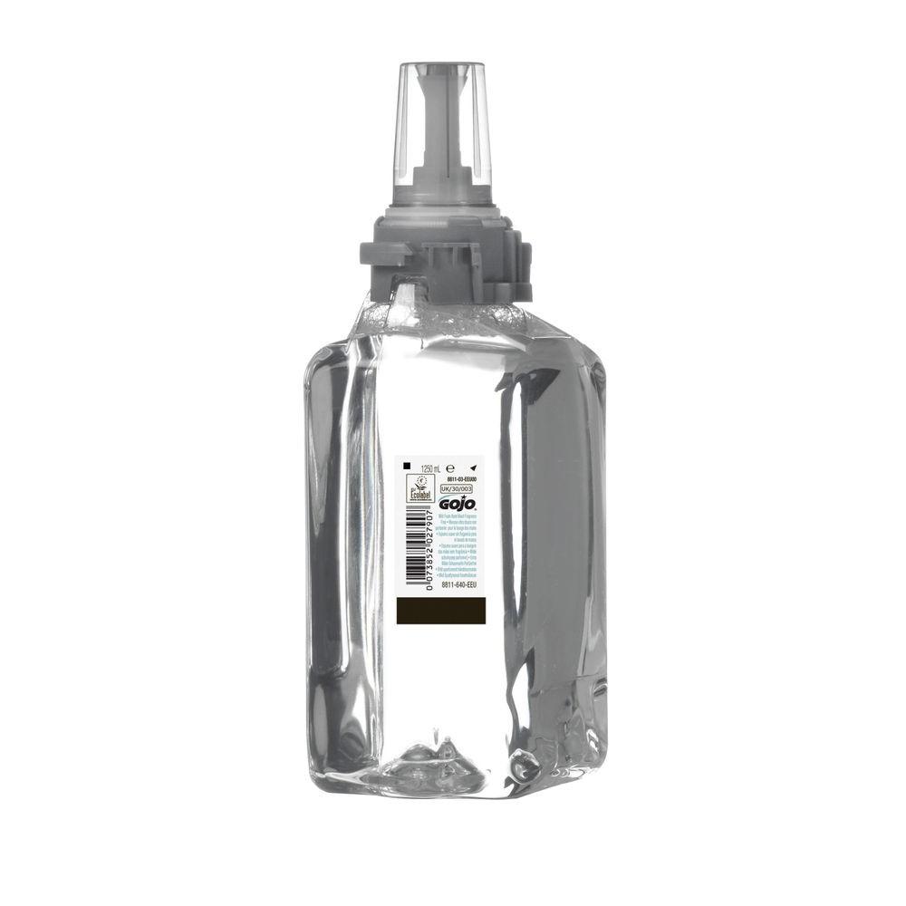 Gojo ADX-12 Lavage à la main en mousse douce en cartouches de 1250 ml - x3