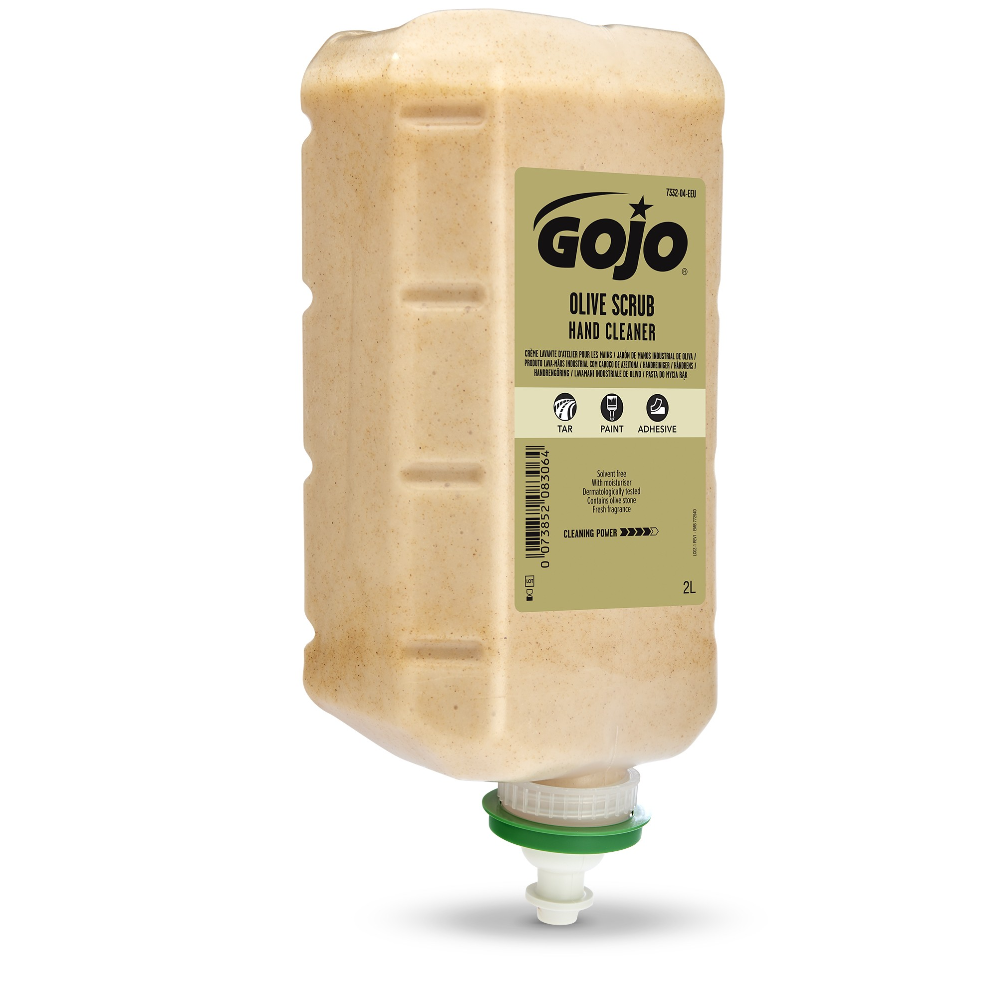 GOJO® Olive Scrub Hand Cleaner Recharge 4 x 2 L
