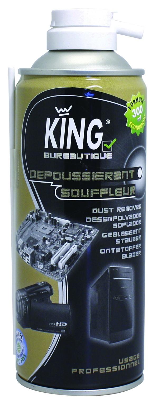 DEPOUSSIERANT SOUFFLEUR 173G (300ML) KING