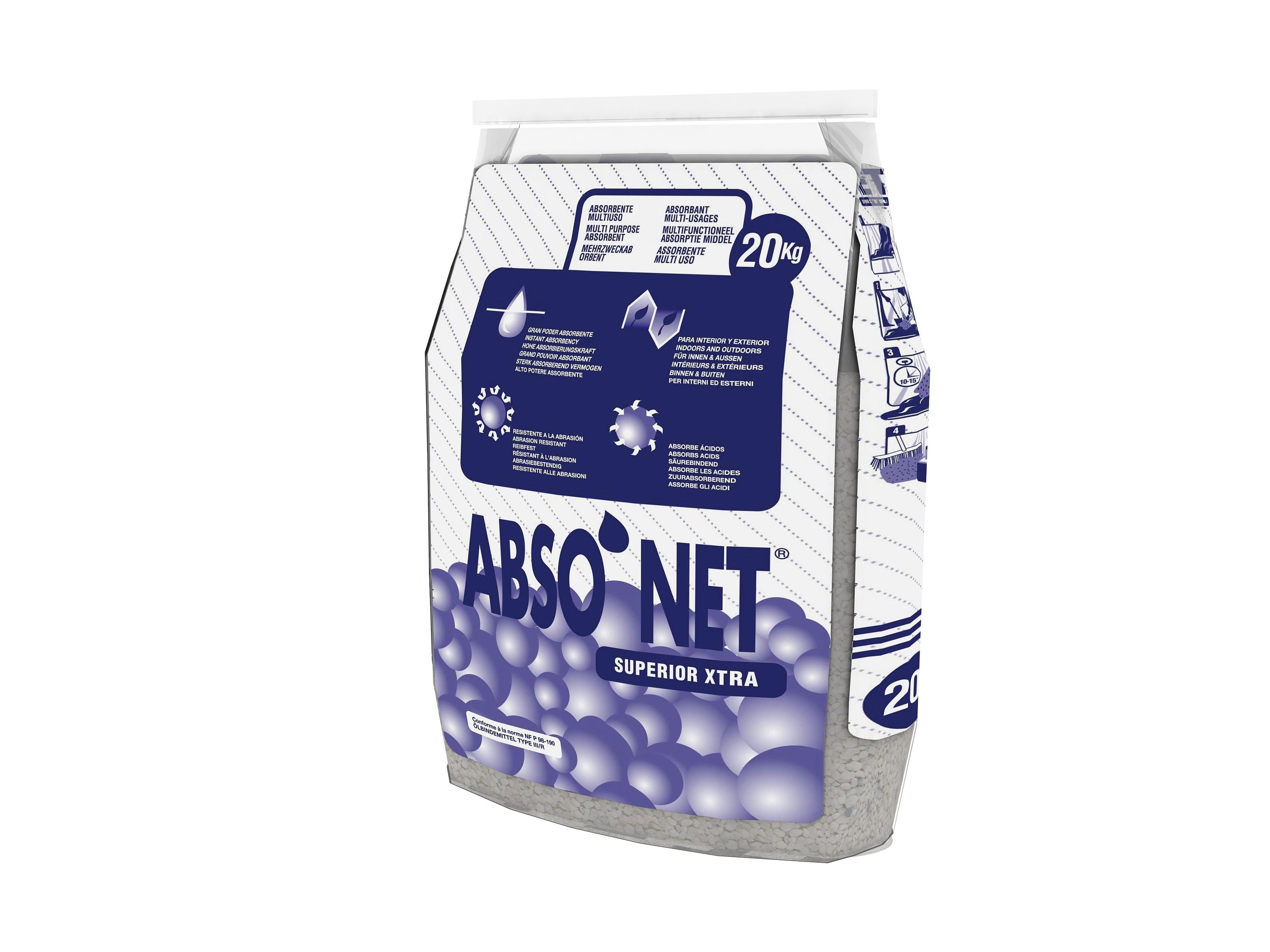 Absorbant ATTAPULGITE CALCINEE 20/50 – ABSONET AC XTRA 20 Kg