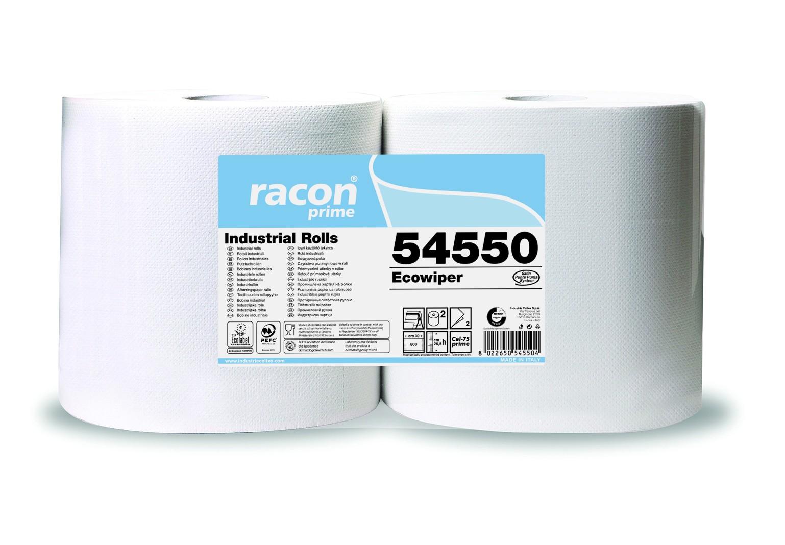 Bobines ouate blanches  800 Formats 2 plis  Colis de 2
