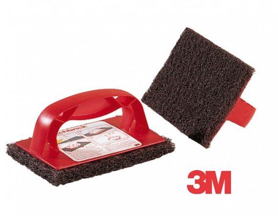 3M™ Scotch-Brite™ Poignée Tampon Scotch-Brick™ pack de 6