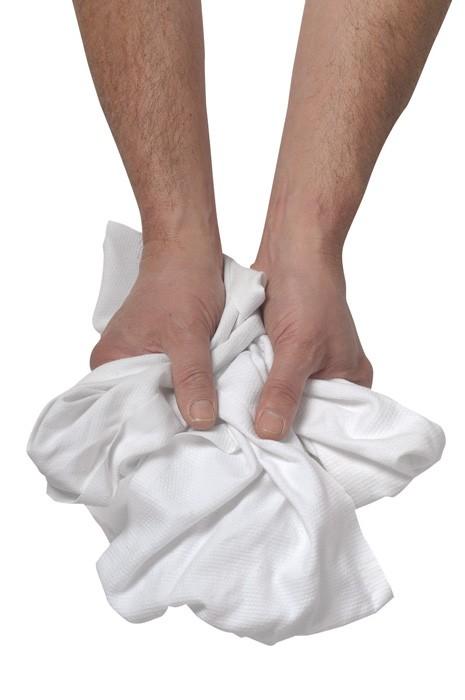 Chiffon coton blanc - Carton 10kg