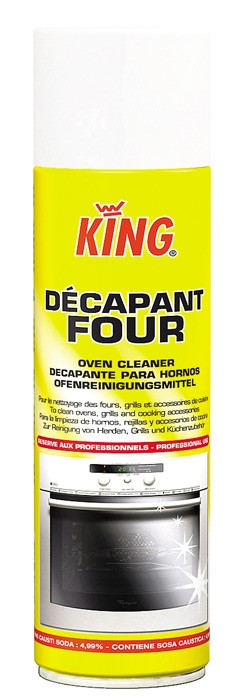 Décapant four king - Aérosol 500ml