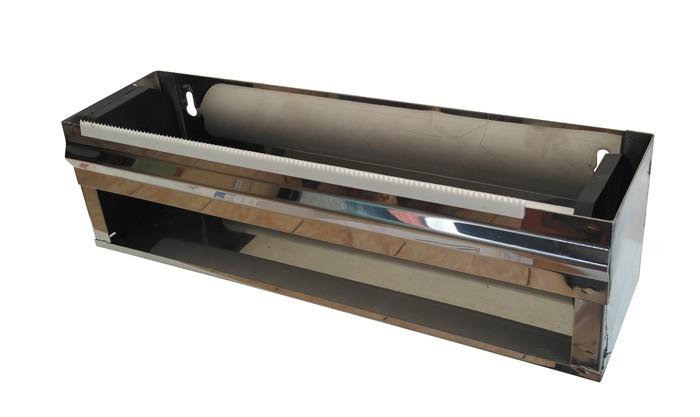 Dérouleur métal (inoxydable) pour film et aluminium - Film 30cm