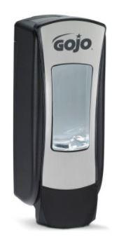 Distributeur GOJO ADX™ 12 - Chromé Distributeur GOJO ADX™ 1250 ml chromé/noir
