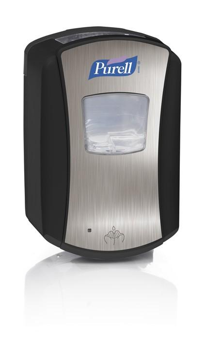 Distributeur automatique PURELL LTX™ 700 ml chromé/noir