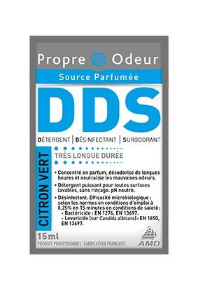 R'net 3D Citron vert - Détergent désinfectant surodorant concentré en dose - Dose 15 ml - Carton 250