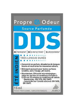 R'net 3D Eté indien- Détergent désinfectant surodorant concentré en dose - Dose 15 ml - Carton 250