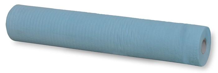 Drap d'examen bleu imperméable - Carton 9 rouleaux - 3x3