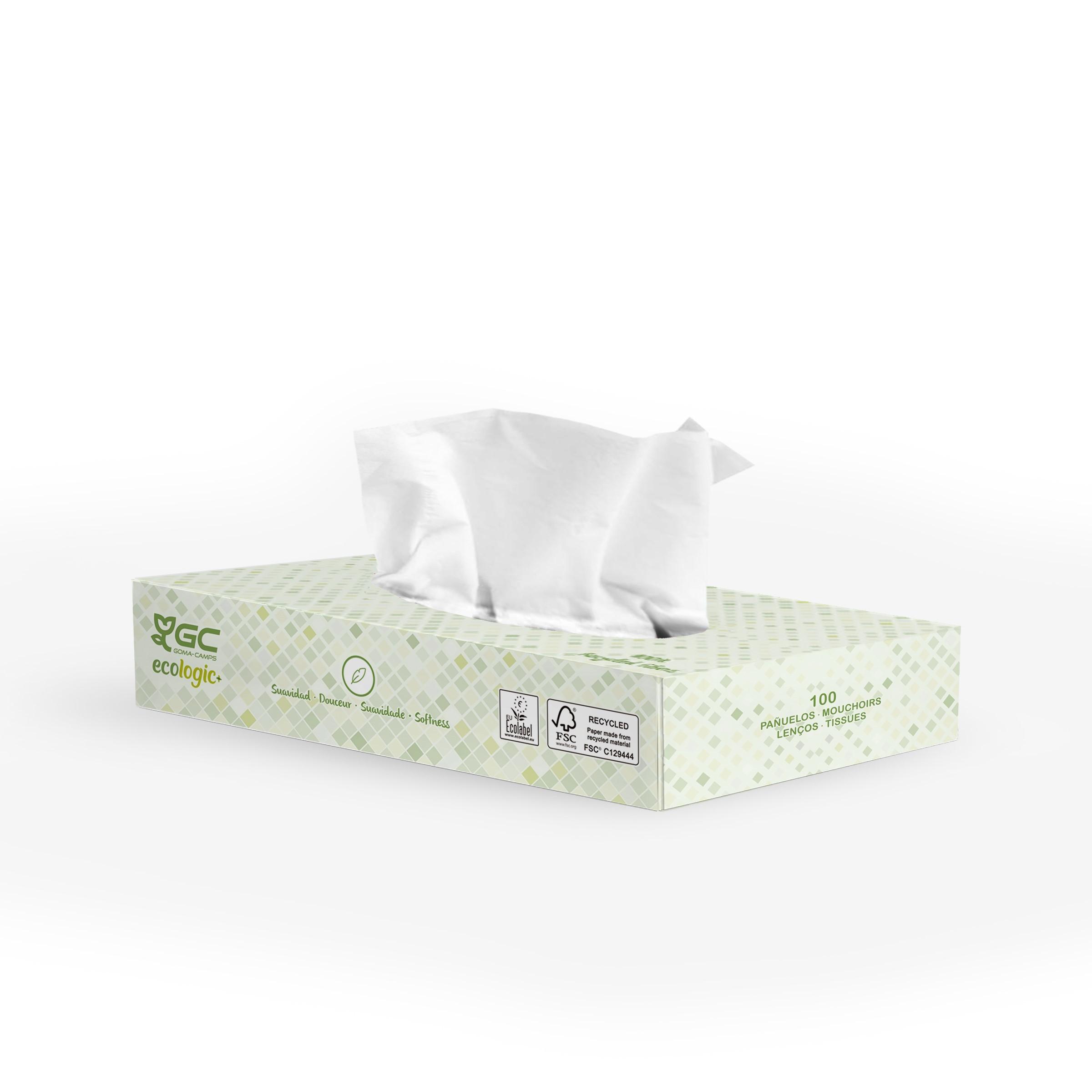 Mouchoirs  tissu GC Ecologic+ 100% recyclés