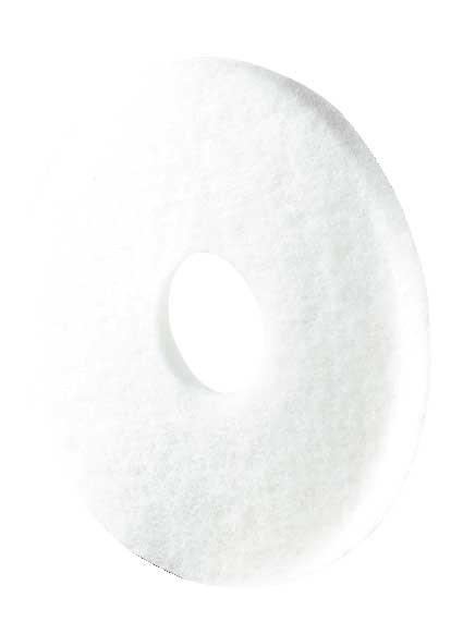 Disque fibre blanche - Carton de 5