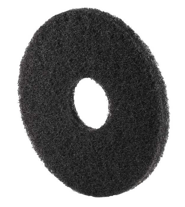 Disque fibre noir - Carton de 5