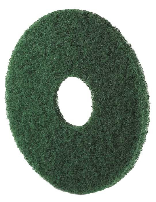 Disque fibre verte - Carton de 5