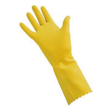 Gant de ménage latex naturel rose ou jaune