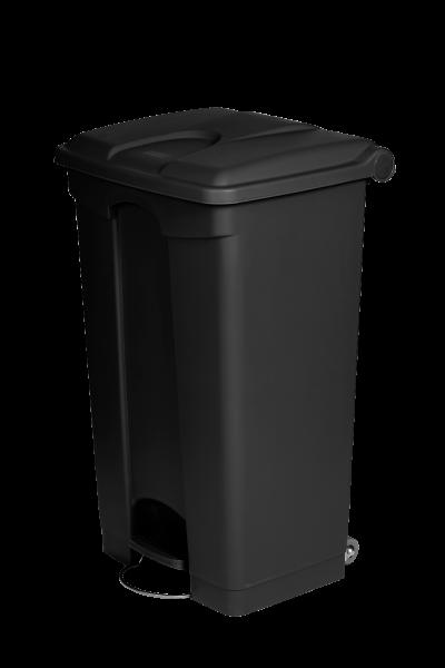 CONTAINER 90L noir plastique recyclé JVD