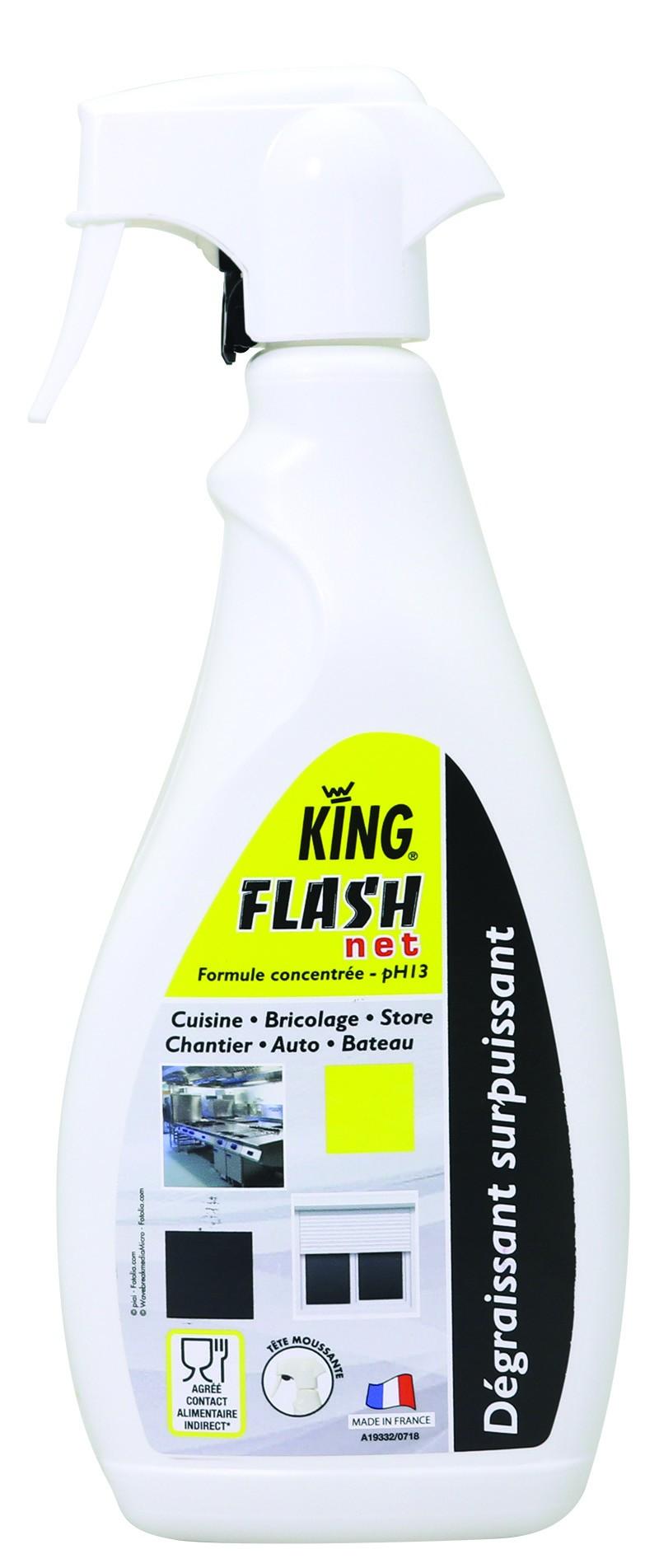 KING FLASH'NET DEGRAISSANT SURPUISSANT 750 ml