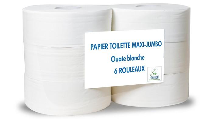 Papier toilette maxi jumbo - Colis 6 rouleaux
