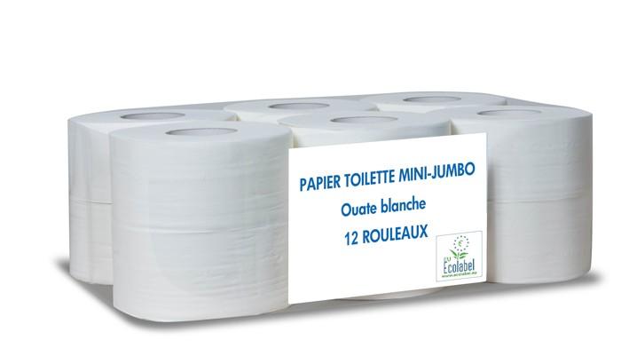 Papier toilette mini jumbo - Colis de 12 rouleaux